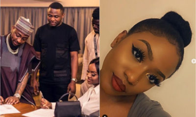 """Ubi please stay away""- Davido made jest of him as Ubi frolics Chioma's Sister on her birthday"