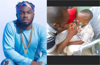 Slim Case gives flashback on how he survived by face painting kids for N50