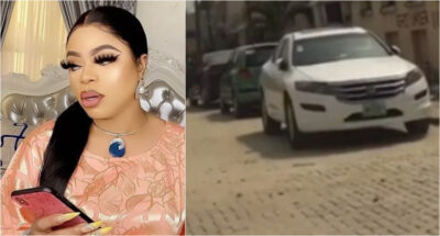 Nigerians on twitter responds to the reported apprehension of Bobrisky by the Police Force