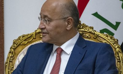 President of Iraq denounces Iran's missile launch on U.S. Military Bases in Iraq