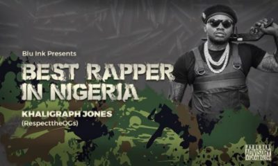 Download Music: Khaligraph Jones- Best Rapper In Nigeria (Blaqbonez Diss)
