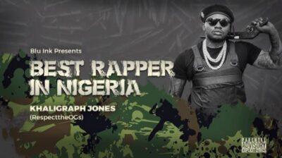 Download Music: Khaligraph Jones- Best Rapper In Nigeria (Blaqbonez Diss)