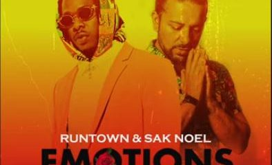 Download Music: Runtown x Sak Noel- Emotions (Sak Noel Mix)