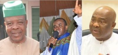 Father Mbaka is the number one trending topic on twitter after supreme court ruling, favouring APC