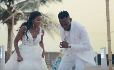 """I'll let you lick my face and listen to your songs""- Simi tells Adekunle Gold on his birthday"