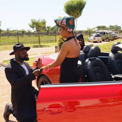 Harrysong finally engages his long time lover, Isioma