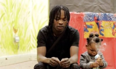 See pictures of Naira Marley's look-alike first son, Jojo