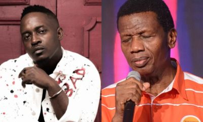 See M.I's reaction after Pastor Adeboye told son to sack female worker that made him feel excited