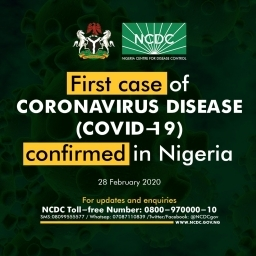 Nigeria confirms first case of the deadly Coronavirus disease in Lagos State
