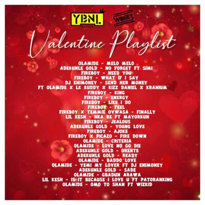 Mixtape: DJ Enimoney- Valentine's Playlist