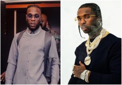 """Burna Boy post video of late Pop Smoke grooving to his """"Collateral Damage"""""""