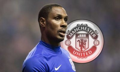 Odion Ighalo joins Man Utd on a 6-month loan deal from Shanghai Shenhua