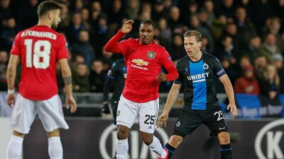 Odion Ighalo is the first Nigerian to score for Manchester United