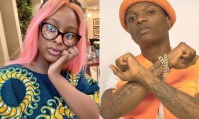 """Send me dollars"" – Wizkid replies DJ Cuppy after she asked him to feature in her EP"