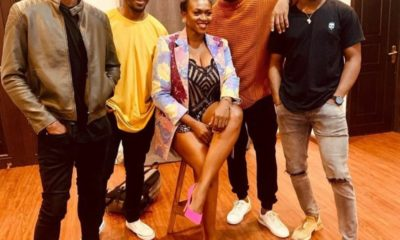 Waje, Praiz, Chike, Bez and Johnny Drille drops clue on new Collaboration