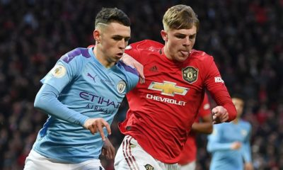 Ederson flops as United defeats toothless City in Manchester Derby Showdown