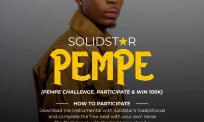 Solidstar – Pempe (Challenge, Participate & Win 100k)