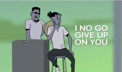 VIDEO: Mr Eazi – I No Go Give Up On You (Visualizer)
