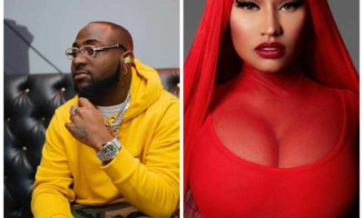 Davido is set to release a massive collaboration with Nicki Minaj