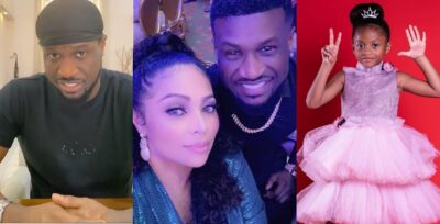 Peter Okoye, wife and daughter all tested positive for COVID-19