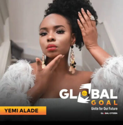 Yemi Alade to perform at 2020 Global Goal Concert