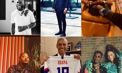 Wizkid, Davido, Burna Boy, Tems makes Barack Obama's 2020 Summer Playlist