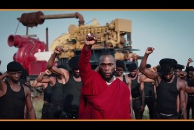 [Video] Burna Boy – Monsters You Made ft. Chris Martin