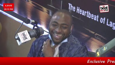 "Davido talks about linking up with Nicki Minaj and his album, ""A Better Time"""