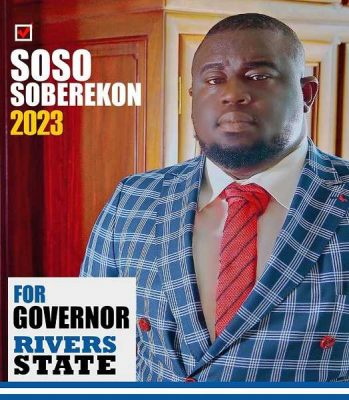 Soso Soberekon to contest for Rivers State Governor in 2023