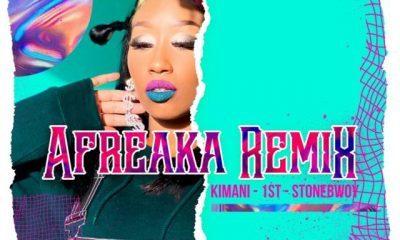 Victoria Kimani & FKI 1st – Afreaka (Remix) ft. Stonebwoy